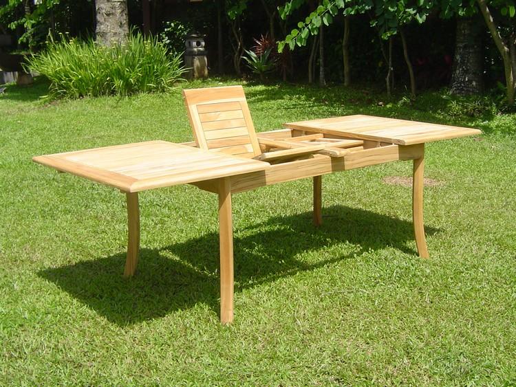 94 Quot Rectangle Table A Grade Teak Wood Garden Outdoor