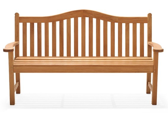 5 feet outdoor teak wood bench patio furniture garden new terra deck collection ebay - Terras teak zwembad ...