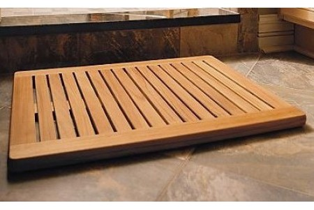 "30"" Large Teak Bath Mat"
