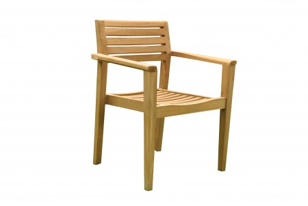 Montana Stacking Arm Chair