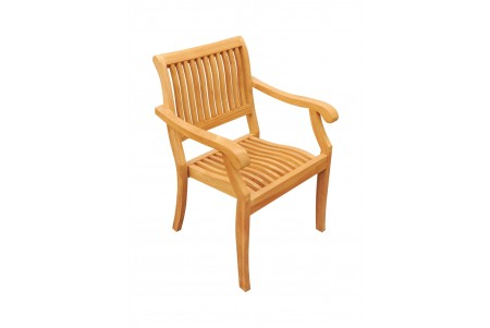 Arbor Stacking Arm Chair