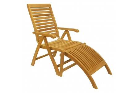 Ashley Reclining/Folding Chair with Footrest