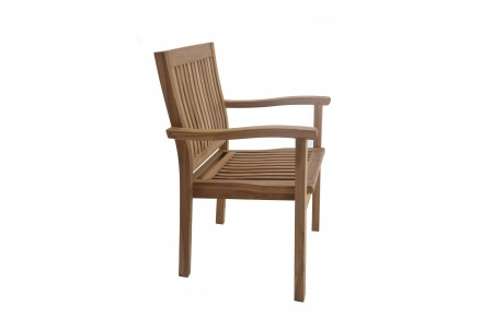 Leveb Stacking Arm Chair