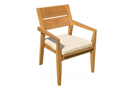 Cellore Stacking Arm Chair