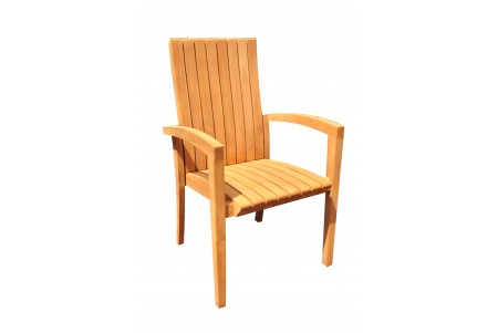 Goa Stacking Arm Chair