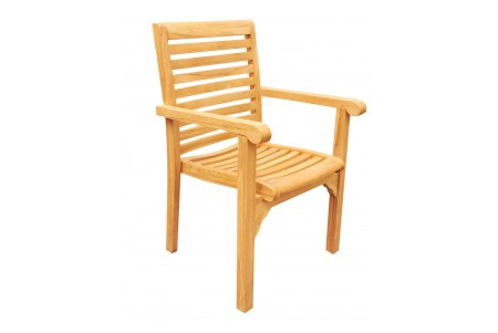 Hari Stacking Arm Chair