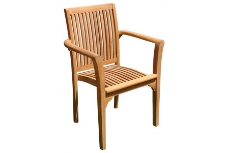 Lua Stacking Arm Chair