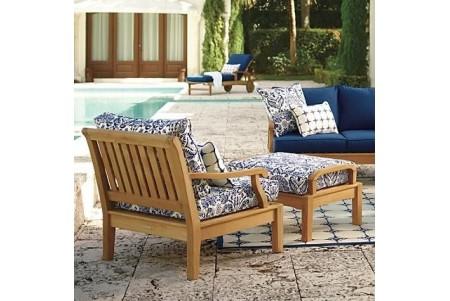2 PC Sack Sofa Chair Set   Lounge Chair And Ottoman