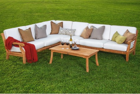 3 PC Giva Sectional Sofa Set - 2 Sofas (Left and Right) and Corner Piece