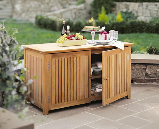 a grade teak bar chest cabinet teak garden outdoor patio