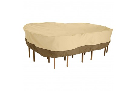 "Veranda 117"" Table Chair Set Furniture Cover (128"" x 82"" x 23"") #70942"