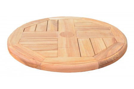 Teak Lazy Susan Turntable
