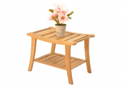 "22.5"" Teak Shower Bench - Elite"