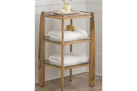 Teak Shower Shelf / Organizer