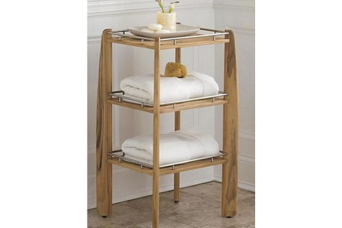 Teak Shower Shelf / Organizer