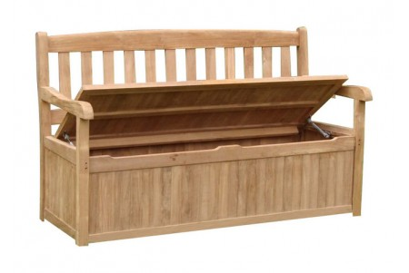 Teak Devon Storage/Bench (5 Feet)