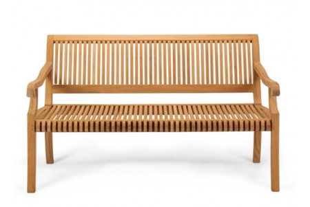 Giva Outdoor Teak Bench (4 Feet)