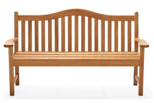 Terra Outdoor Teak Bench (5 Feet)