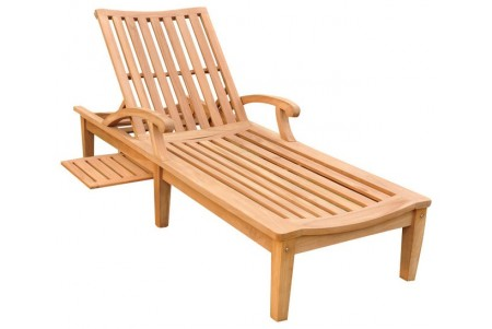 Teak ND Chaise Lounger