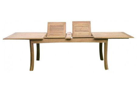 "117"" Double Extension Rectangular Dining Table"