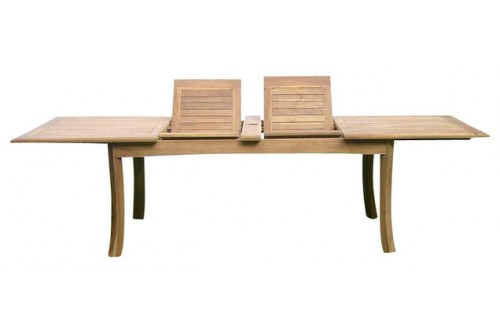 """117"""" Double Extension Rectangular Dining Table"""