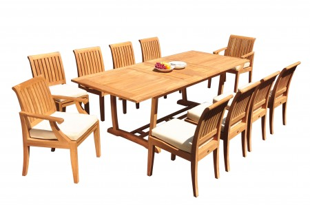 Lagos Arm Armless Chairs Collection Outdoor Teak Furniture