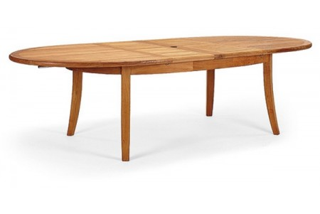 "94"" Double Extension Oval Dining Table"