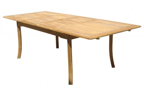"94"" Double Extension Rectangle Dining Table"