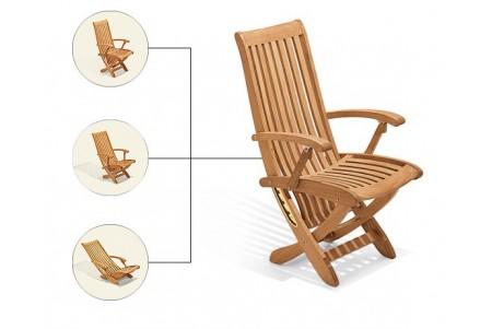 Warwick Reclining/Folding Chair