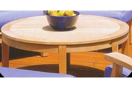 "Somer 36"" Round Coffee Table"