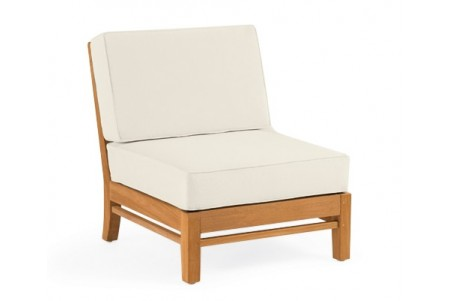 Delmar Sectional Armless Lounge Chair