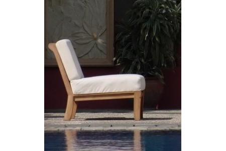 Giva Sectional Armless Lounge Chair