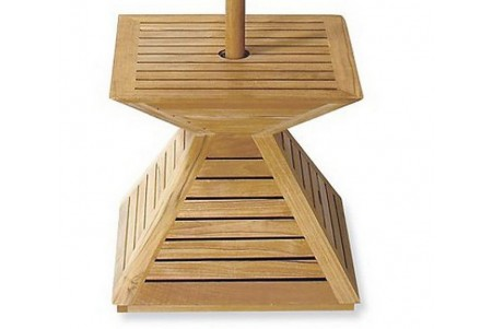 Teak Umbrella Stand / Base / Cover
