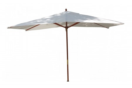 10 Feet Rectangle Umbrella (Wooden Pole)