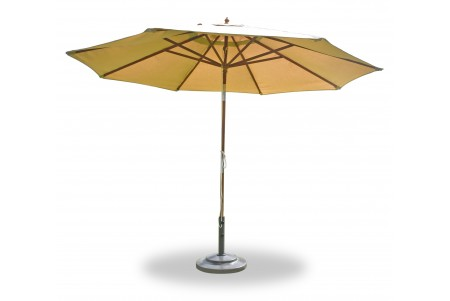 11 Feet Round Umbrella (Wooden Pole) With Sunbrella Fabric